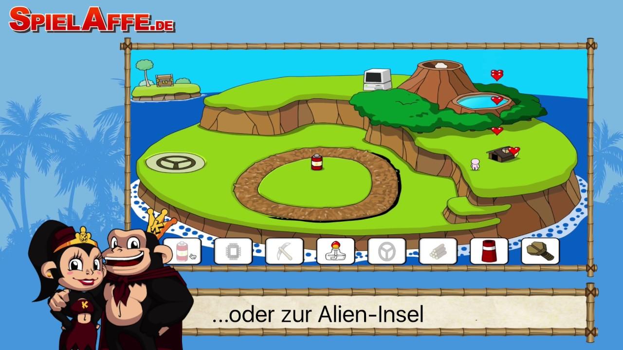 Komische Insel Trailer Tipps Und Tricks SpielAffede YouTube - Spielaffe mit minecraft