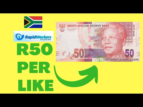 GET PAID TO LIKE VIDEOS||(R50) How to make money online in South Africa.
