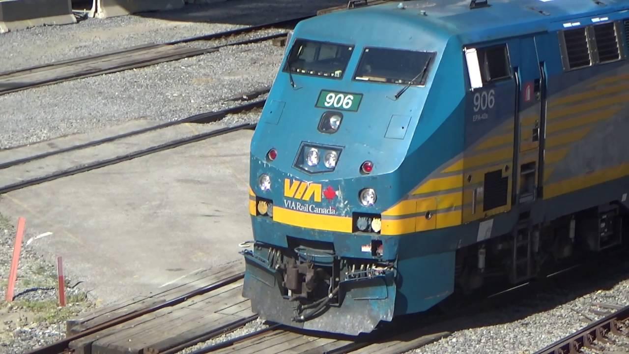 Railfanning at Toronto Union Station: GO Transit, VIA Rail, and ...