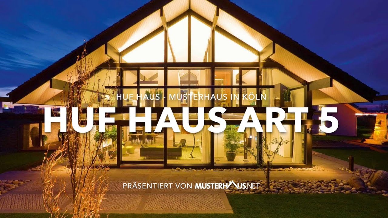 huf haus art 5 musterhaus in k ln modernes fachwerkhaus youtube. Black Bedroom Furniture Sets. Home Design Ideas