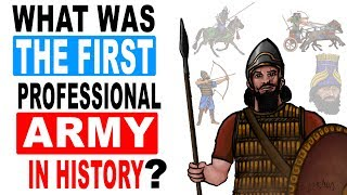 What was the First Professional Army in History?