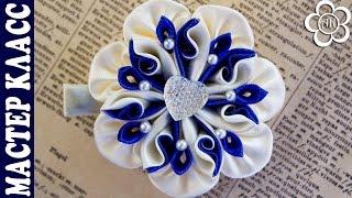 Neste vídeo tutorial vamos fazer uma bela kanzashi e a pétala da flor