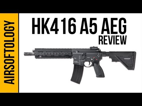 HK 416A5 w/ ECS Gen 2 Avalon Gearbox (AEG) | Airsoftology