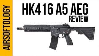 HK 416A5 w/ ECS Gen 2 Avalon Gearbox (AEG)   Airsoftology