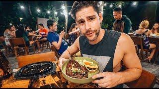 AMAZING FILIPINO FOOD AT CANTINA LUNA SIARGAO THE PHILIPPINES