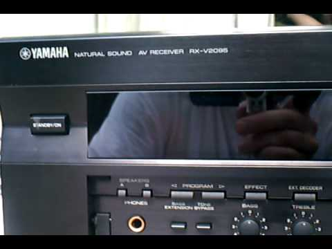 yamaha rx v2095 asf youtube rh youtube com Old Yamaha Home Theatre Yamaha Amp Receiver Circuit Board