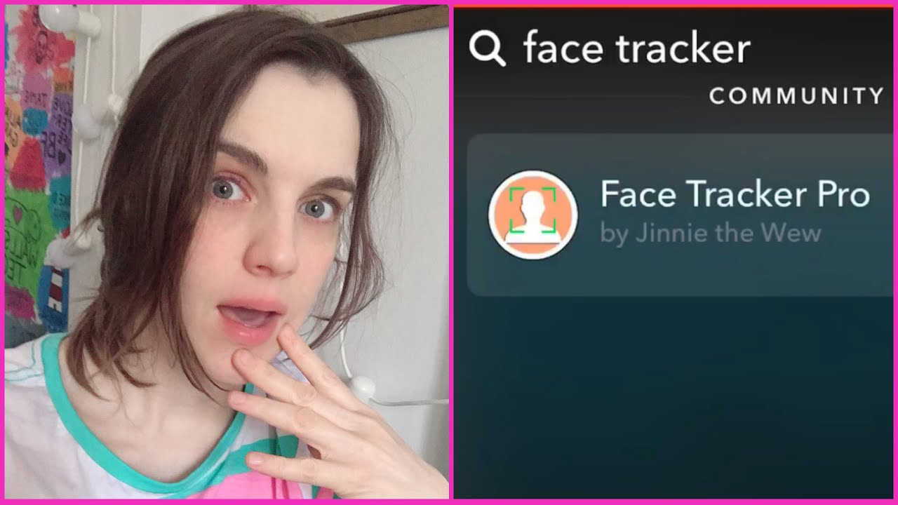 économiser 1261f 5a0c4 Get The Face Tracker Filter On TikTok From Snapchat ...