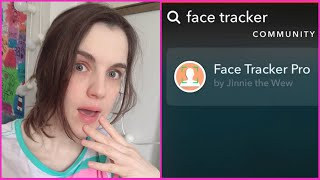 This is how to install the face tracker pro filter or lens in snapchat be able use tracking trend videos on tiktok. it's community lenses on...