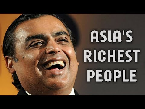 Top 10 Asia's Richest People 2018