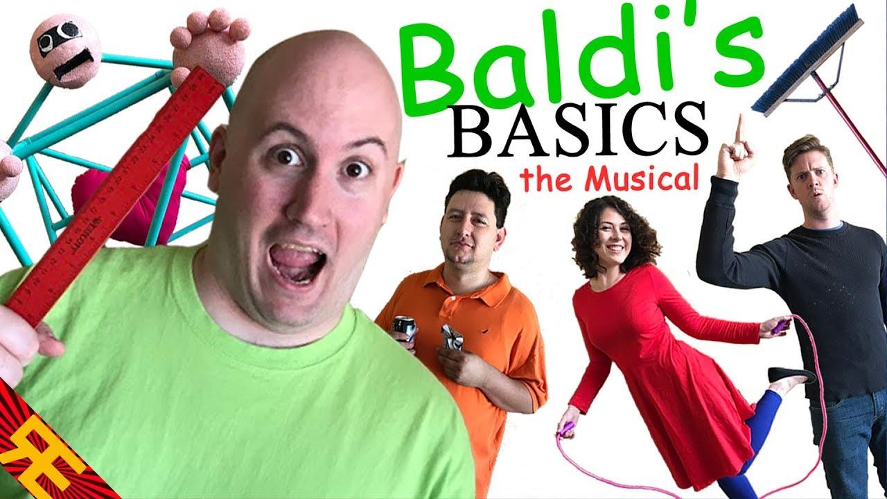 Baldi S Basics The Musical By Random Encounters Youtube