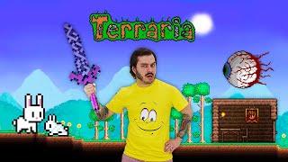 Видео обзор игры Террария – Начало игры Terraria! - Онлайн гейм шоу с Нубом.