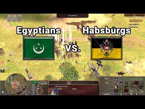 WickedCossack (Egyptians) vs. Eaglemut (Habsburgs) | Wars of Liberty Multiplayer
