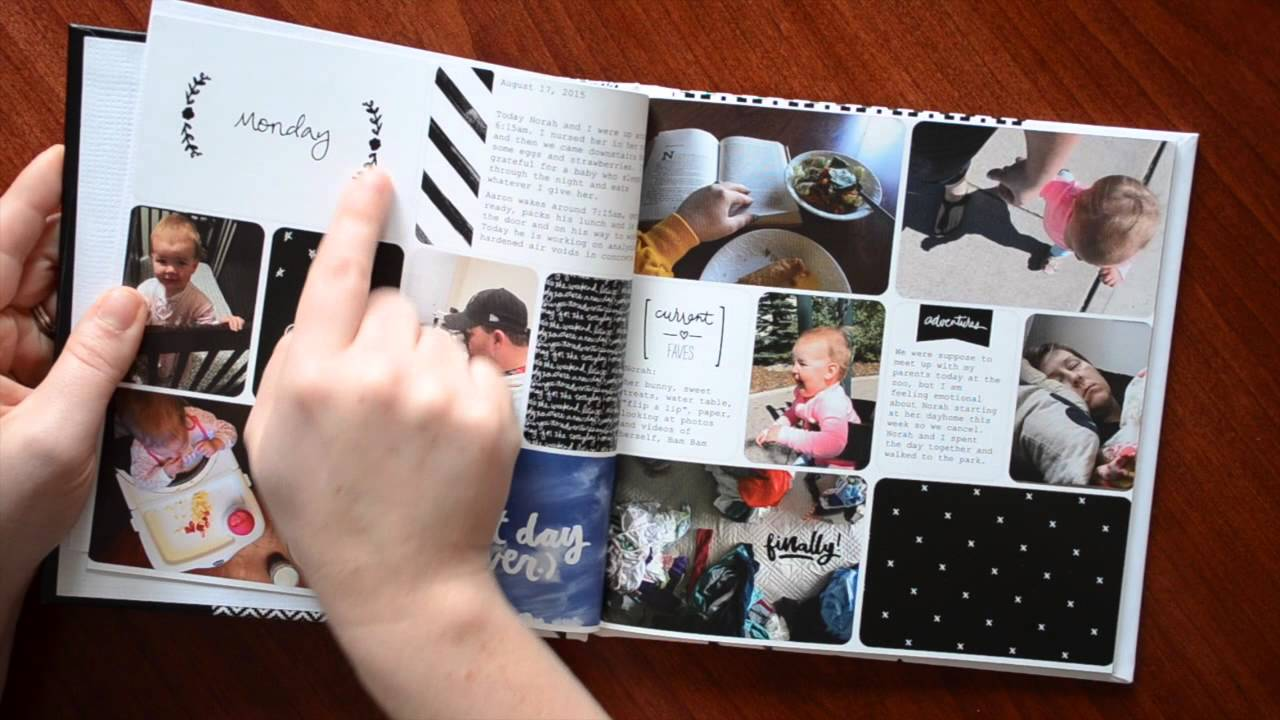 How to scrapbook with project life - Week In The Life Share And How To Use Dropbox With The Project Life App