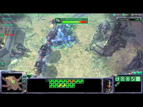 Starcraft 2 - The Great Train Robbery - Walkthrough Gameplay PC