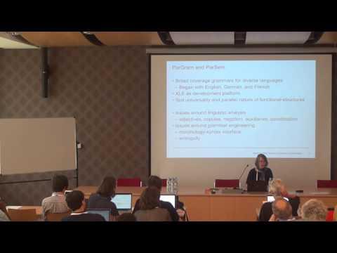 [HeadLex16] King: Theoretical linguistics & grammar engineering as mutually constraining disciplines