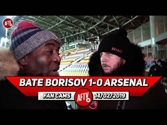 Bate Borisov 1-0 Arsenal   We Lost To A Team That Looks Like A WIFI Password! (DT Rant)