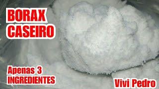 BORAX CASEIRO COM 3 INGREDIENTES