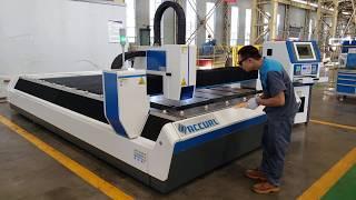 ACCURL Manufacturer 1000w IPG Fiber CNC Laser Cutting Machine for Sale Price