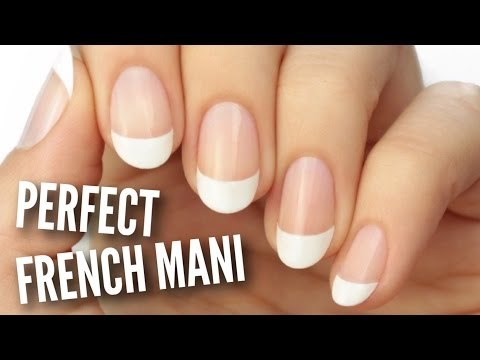 Paint A French Manicure Perfectly!