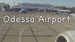 Europe worst runway at Odessa? При взлёте трясет не по-детски Одессa Украина HD
