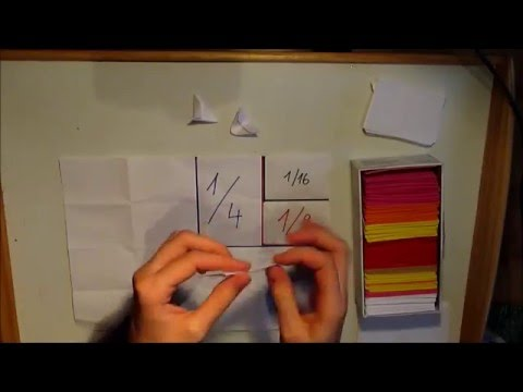 3D Origami - skládání základního dílku