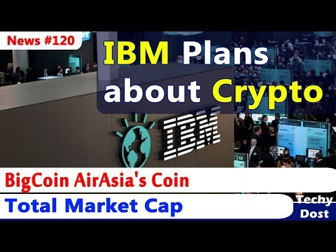 BigCoin AirAsia's Coin, IBM Plans about CryptoCurrency, Total Market Cap