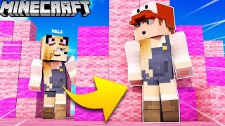 BELLA TROLL?! - ZABAWA W CHOWANEGO W MINECRAFT (Hide and Seek) | Vito vs Bella