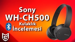 Sony WH CH500 Bluetooth Kulaklık İnceleme / Review 🎧 [ENGLISH SUBTITLED]