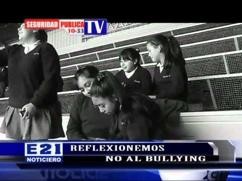 LUCHEMOS CONTRA EL BULLYING QUE AFECTA A CIENTOS DE ESTUDIANTES