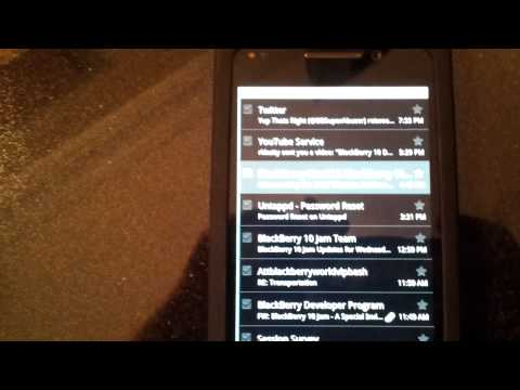 Email Enabled on the BlackBerry 10 Alpha Device Using Android Runtime