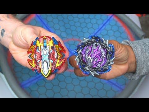 BUSTER XCALIBUR vs YAMITERIOS   Beyblade Burst Super Z ベイブレードバースト 超ゼツ