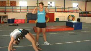 Gymnastics  : How to Do a Backbend