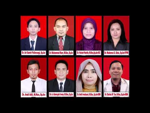 Departemen Ilmu Anestesi Tahun Ajaran 2017/2018