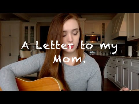 A Letter to my Mom Original Song  Rosie Donnelly A song about sexual abuse