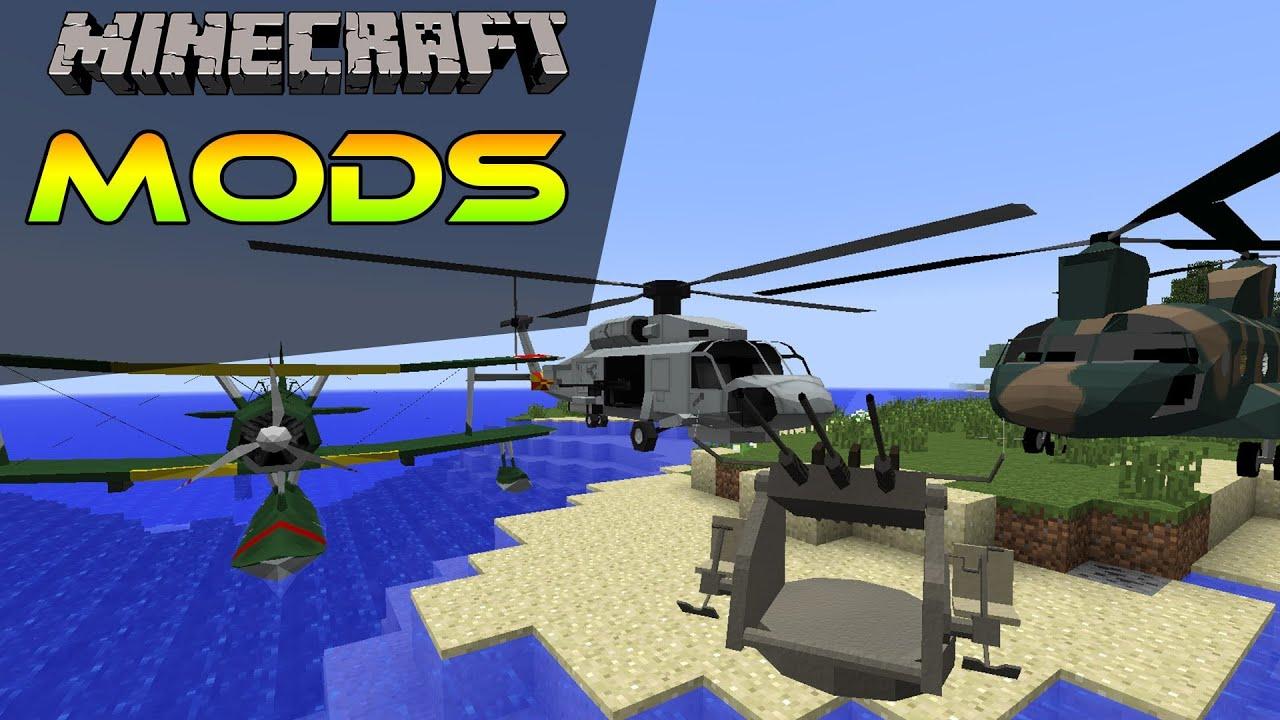 википедия мода майнкрафт helicopter mod #8