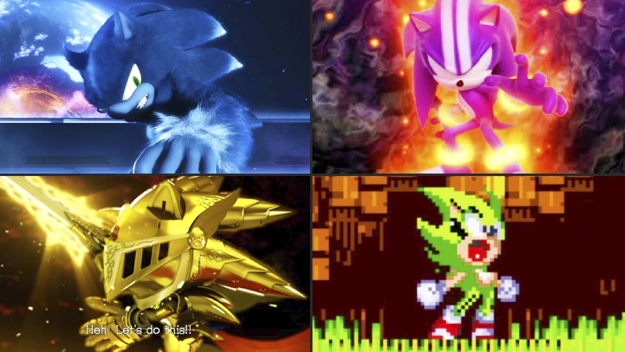 Evolution of Sonic's Transformation (1992-2020)
