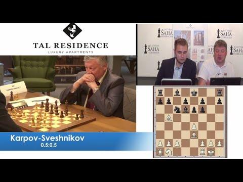 E.Sveshnikov vs A.Karpov - Game 2