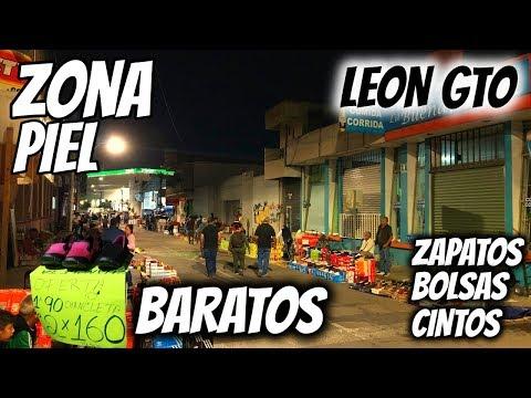 🔴 ASI ES EL TIANGUIS NOCTURNO ZONA PIEL LEÓN GTO | ZAPATOS, BOLSAS, CARTERAS BARATOS | COSTOS, TIPS