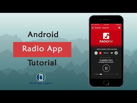 How To Make Radio App In Android Studio