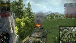 ▶ World of Tanks - T-62A - Mountain Pass (Patch 8.0) + Batchat Dual