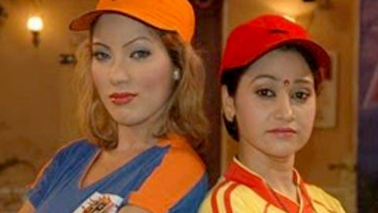 Hot Babita ji, Daya & Anjali dancing in rains on the sets ... Taarak Mehta Ka Ooltah Chashmah Jethalal And Babita Ji Hot
