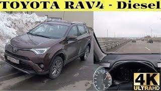 Toyota RAV4 - чем порадует дизель на трассе?