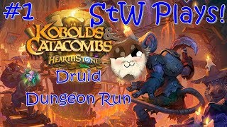 Adventurers Wanted! | Hearthstone Dungeon Run ep 1 (Druid) | Sutton the Wolf Plays!