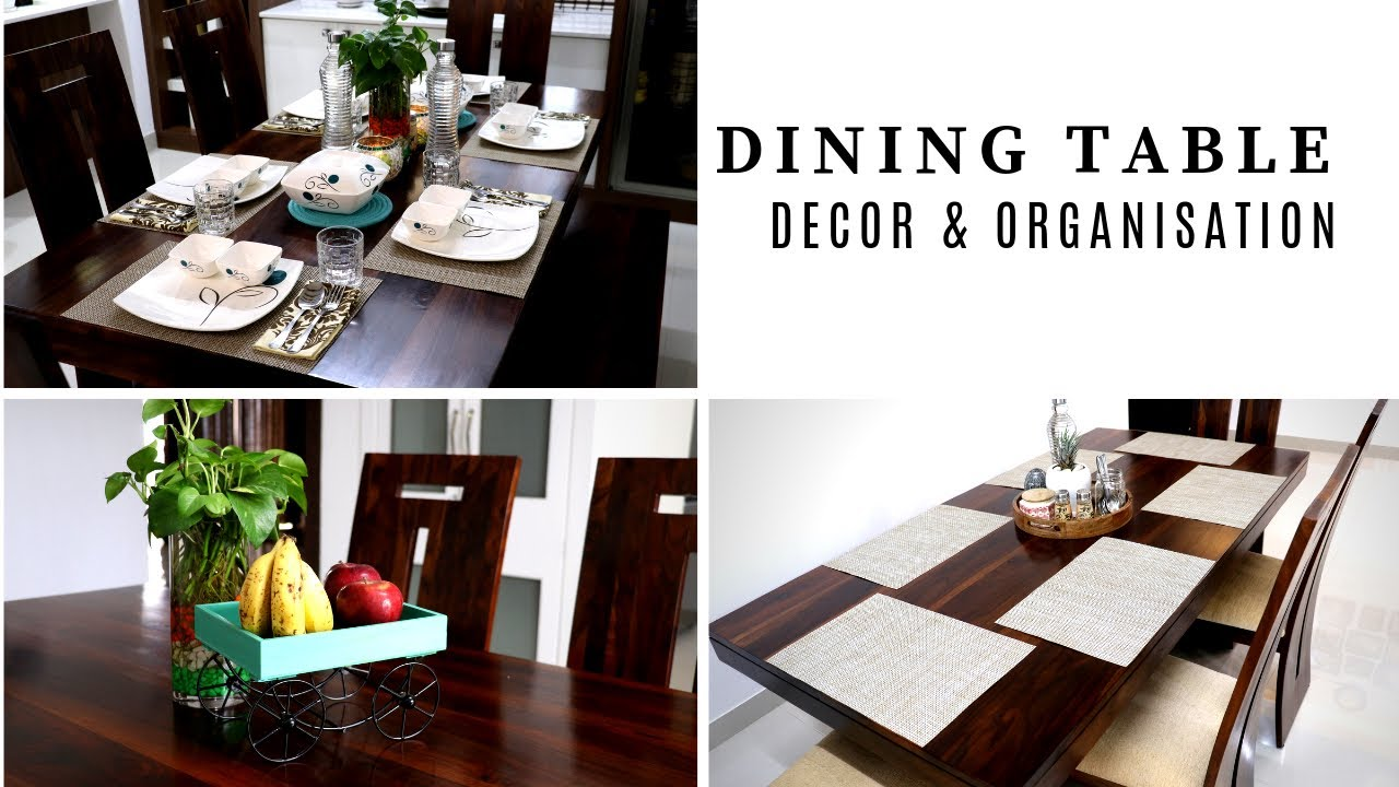 Dining Table Decor And Organization Ideas Simplify Your Space Youtube