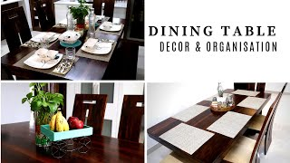 Dining Table Decor And Organization Ideas - Simplify Your Space