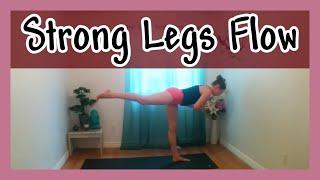 Advanced Yoga for Strong & Sexy Legs - 25 min Yoga Class