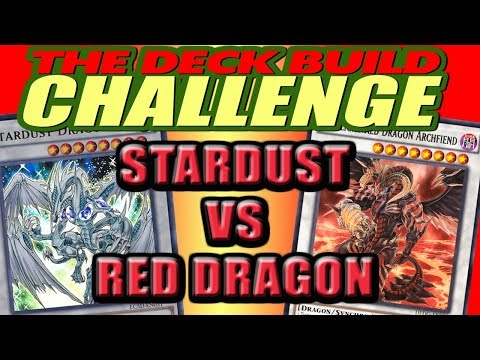 STARDUST VS RED DRAGON - The Deck Build Challenge w/ Wyncrer Vs. Lil Pip