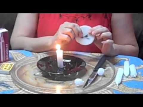 Ivisaura explica como hacer las velas en revocaci n youtube - Como hacer velas ...