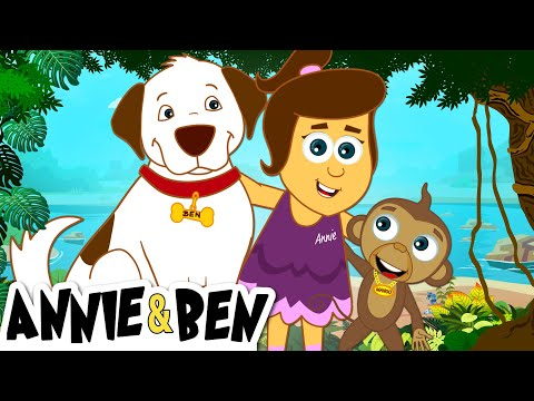 The Adventures of Annie & Ben | Eating In The Amazon Forest  | Fun Learning Cartoons For Kids
