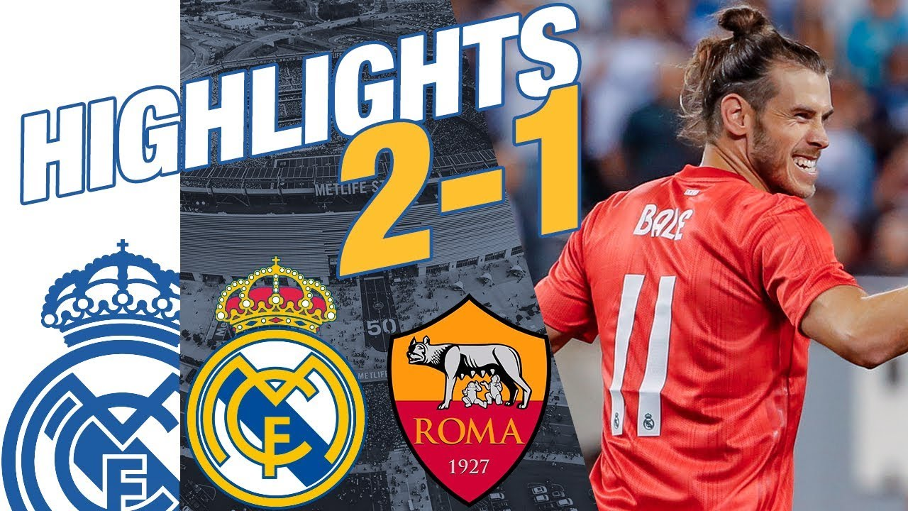 Real Madrid vs AS Roma 2-1 HIGHLIGHTS RESUMEN 2018 - YouTube 35c8b0f33fcc7